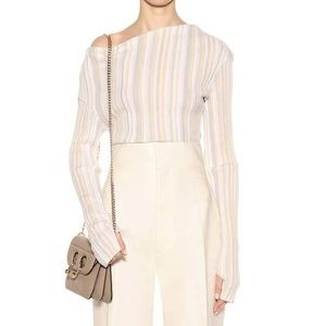 NWOT Jacquemus Neutral Striped Sweater